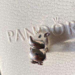 PANDORA Rino the Rhinoceros Charm